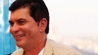 """""""A gestão do prefeito Carlos Amastha não tem um marco. Ele queria o BRT, cuja verba é do governo federal, mas pelo visto não vai ser realizada"""""""