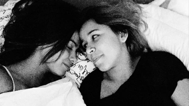 Cantora e fã Juliana de Paiva em momento de intimidade | Foto: Reprodução Instagram