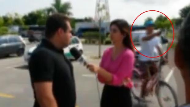 Suspeito de assaltar equipe de TV é preso em Guarujá