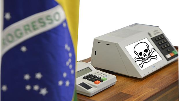 Sistema eleitoral brasileiro não é  seguro e pode ser fraudado. Saiba como