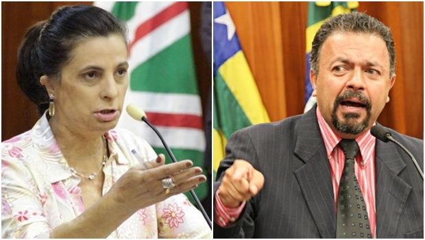 Vereadores Dra. Cristina (PSDB) e Elias Vaz (PSB): emendas desagradam prefeitura | Fotos: Câmara Municipal