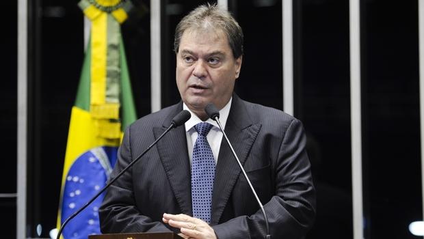 Ex-senador Gim Argello pediu para ser desligado do PTB | Foto: Pedro França/ Agência Senado