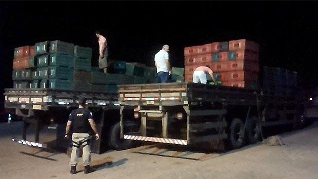 27 m³ de madeira são apreendidos em Uruaçu