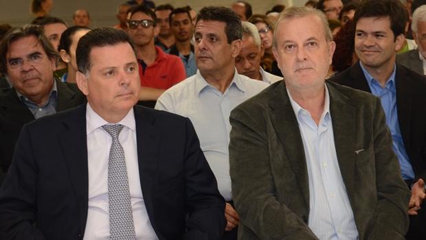 Marconi Perillo e Paulo Garcia vivem situações opostas em relação às bases que os sustentam nos legislativos | Wagnas Cabral