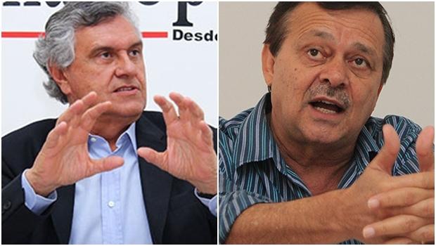 Senador Ronaldo Caiado e deputado Jovair Arantes: líderes goianos são firmemente contra a união de seus partidos