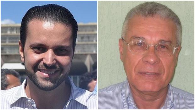 Alexandre Baldy e Afrêni Gonçalves: um deles vai ser presidente do PSDB