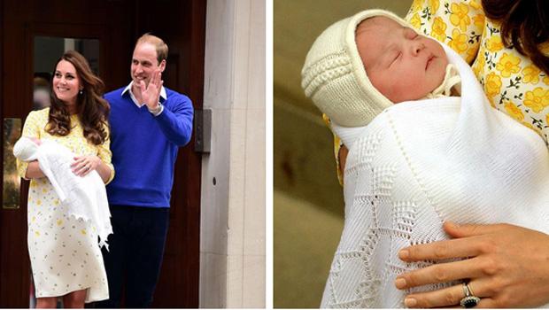 Kate Middleton e príncipe William apresentam filha ao mundo pela primeira vez