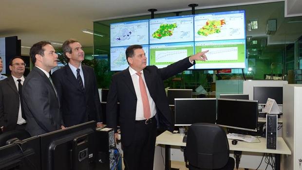 Governador Marconi Perillo (PSDB) apresenta OSs ao governador das Alagoas, Renan Filho (PMDB) | Foto: Wagnas Cabral