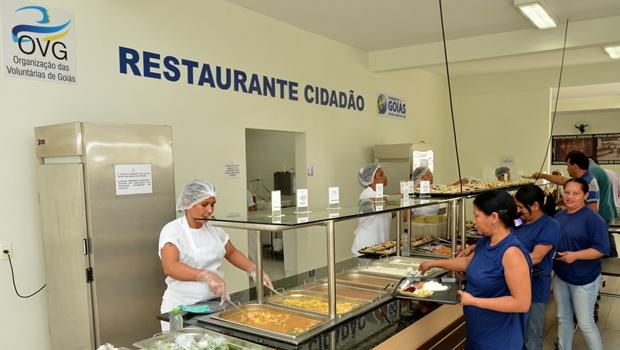 Governo de Goiás reajusta em 100% preço da refeição no Restaurante Cidadão