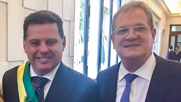 Governador Marconi Perillo e Sérgio Cardoso | Foto: Reprodução / Facebook
