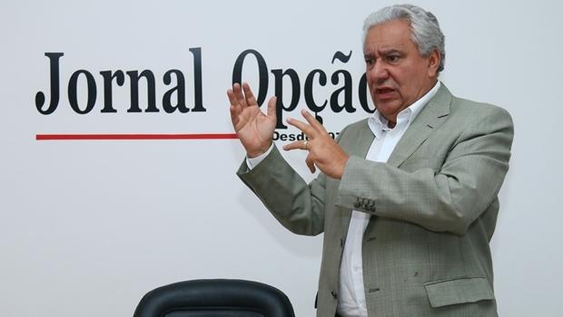 Secretário Vilmar Rocha reconhece que VLT para este governo é possibilidade remota   Foto: Fernando Leite / Jornal Opção