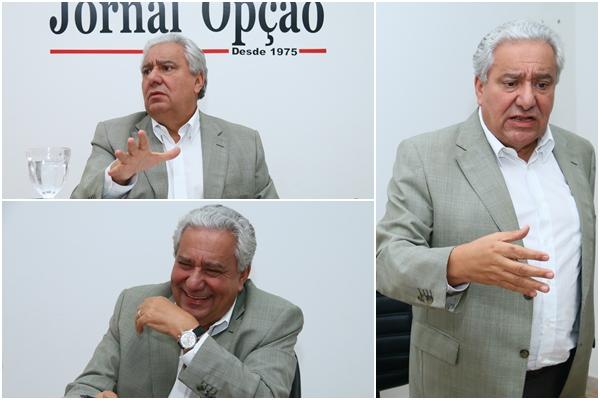 Vilmar diz que sempre fez oposição ao PT, mas, após a eleição, é preciso ter relação republicana | Fotos: Fernando Leite / Jornal Opção