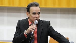 Pedido de vistas partiu do vereador Zander Fábio | Foto: Alberto Maia/Câmara de Goiânia