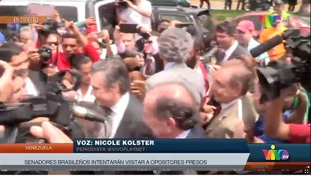Reprodução/TV venezuelana