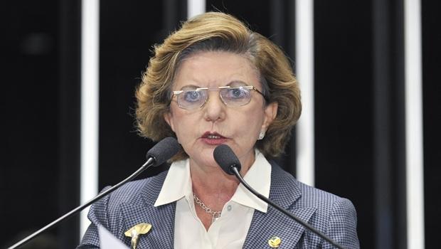 Lúcia Vânia deve assumir presidência do diretório estadual do PSB   Foto: Waldemir Barreto/ Agência Senado