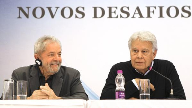lula e ex-ministro espanhol