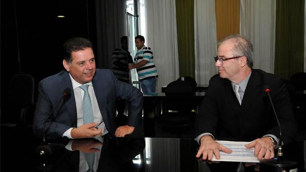 Em Brasília, Marconi tem audiências com três ministros