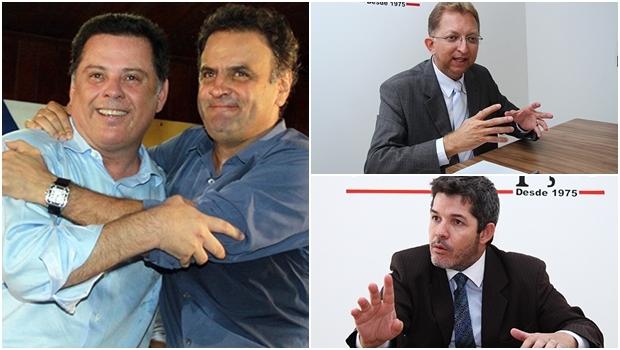 """Assim como Aécio Neves """"estudaria"""" troca de legenda para disputar a Presidência novamente, Marconi insinua que poderia sair do PSDB; João Campos também ameaça deixar o ninho tucano, enquanto Delegado Waldir não concorda que os goianienses queiram """"gerentão"""""""