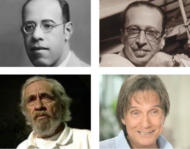 Mário de Andrade, Manuel Bandeira, Geraldo Vandré e Roberto Carlos: suas artes e vidas, com seus aspectos negativos e positivos, poderão ser mais bem conhecidas