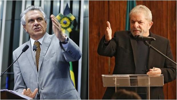 Senador Ronaldo Caiado e ex-presidente Luiz Inácio Lula da Silva | Fotos: Moreira Mariz/ Agência Senado | Ricardo Stuckert/ Instituto Lula