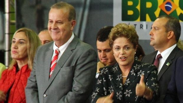 Dilma convida Paulo Garcia para evento nacional | Foto: Fernando Leite/Jornal Opção