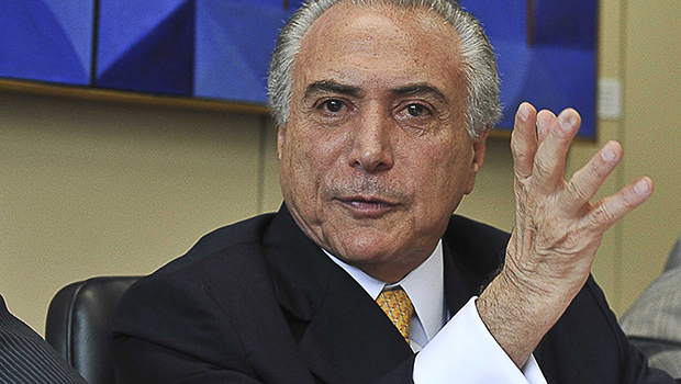 "Michel Temer: o ""cheiro do poder"""