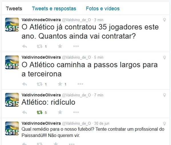 Resenha - Twitter Valdivino
