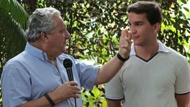 Secretário Vilmar Rocha (PSD) e Bruno Manoel: liderança jovem quer fazer partido crescer em Trindade (e em Goiás) | Foto: reprodução / Facebook