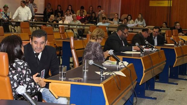 Plenário da Câmara Municipal em sessão | Foto: Eduardo Nogueira