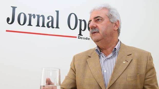 Diretor regional do Sicredi, Celso Figueira, inaugura nova unidade da cooperativa na capital nesta sexta-feira (3/7) | Foto: Fernando Leite / Jornal Opção
