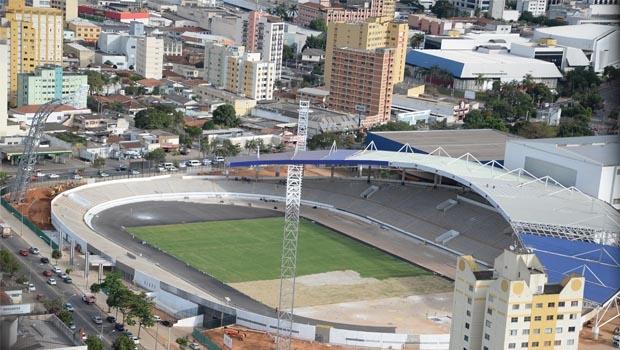 Obras do Centro de Excelência do Esporte, no centro da capital | Foto: Divulgação
