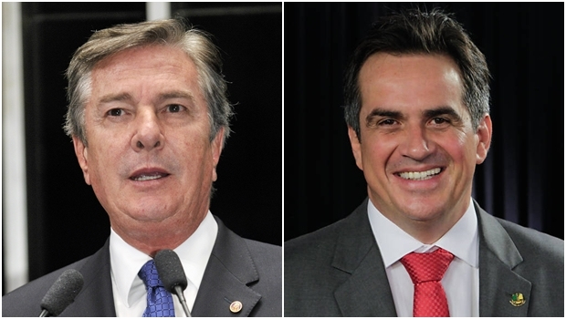 Senadores Fernando Collor (PTB) e Ciro Nogueira (PP) | Fotos: Waldemir Barros / Agência Senado e divulgação PP