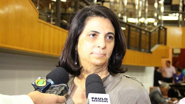 Candidatura da vereadora Dra. Cristina Lopes ao Paço Municipal é cobrada | Foto: Eduardo Nogueira/Câmara de Goiânia