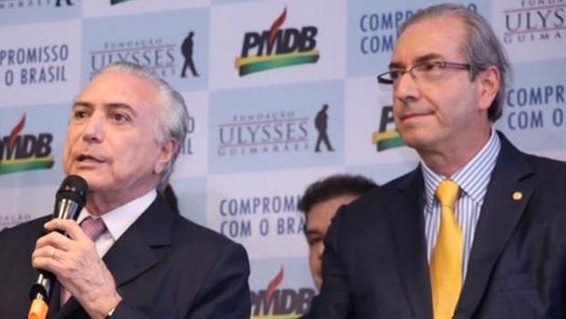PMDB afirma que Cunha não pode responder pelo partido