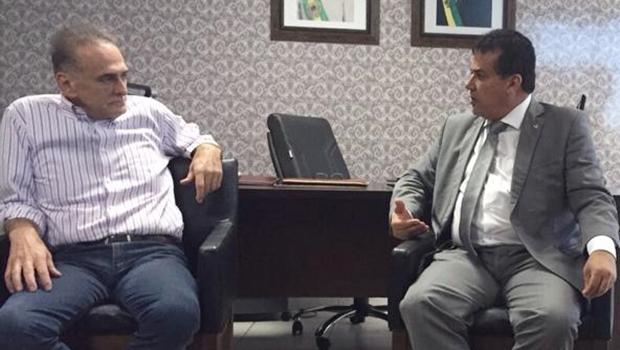 Jardel Sebba se reúne com Enil Henrique e declara apoio a mudanças na UDH