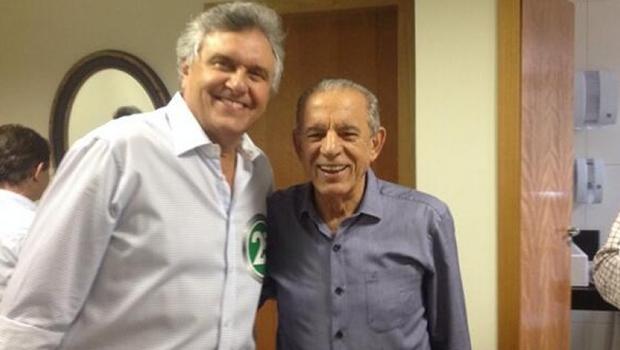 Iris Rezende (PMDB) e Ronaldo Caiado (DEM): o ex-prefeito de Goiânia e o senador estão usando um e outro como balões de oxigênio — um alimenta o outro, sempre pensando em vingança política e pessoal