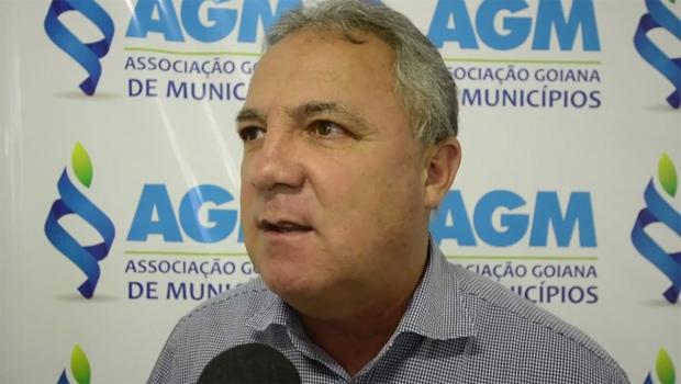 Prefeito de Senador Canedo, Misael Oliveira | Foto: vídeo/ divulgação