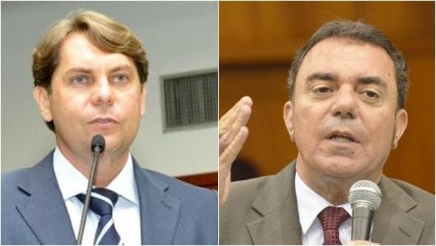 Deoutados de oposição Bruno Peixoto (PMDB) e Luis Cesar Bueno (PT) questionaram a aprovação do projeto | Fotos: Marcos Kennedy