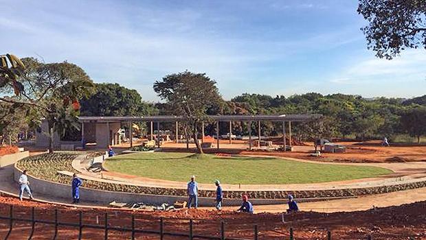 Obras do Macambira-Anicuns, na Região Sudoeste da capital  | Foto: Reprodução/Prefeitura de Goiânia