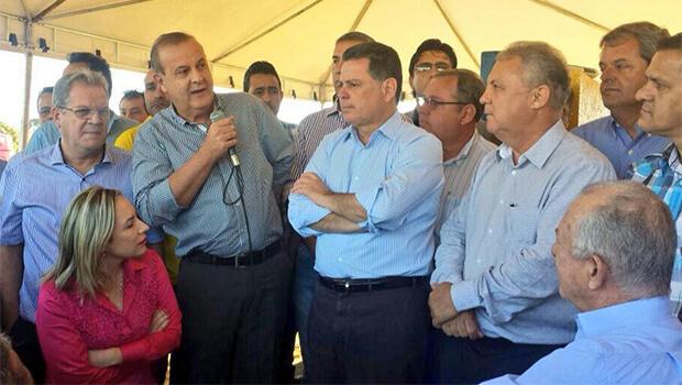 Marconi reúne Paulo Garcia e Jayme Rincón na mesma tenda