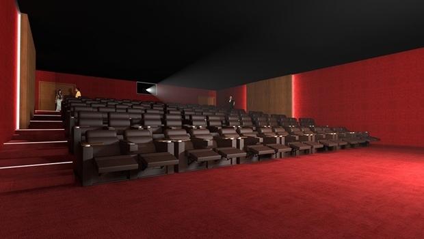 Projeto do novo cinema do Centro Cultural Oscar Niemeyer | Foto: Reprodução Facebook