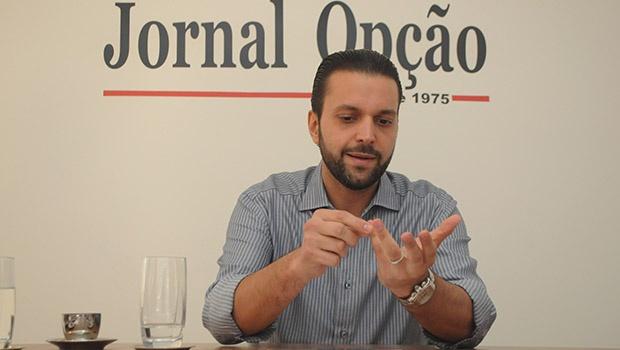 O jovem deputado tucano Alexandre Baldy, por enquanto, é só indefinição | Foto: Renan Accioly