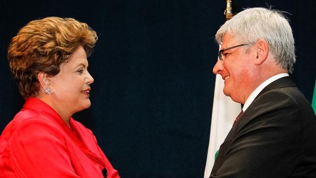 Dilma confirma indicação de Janot para novo mandato na PGR