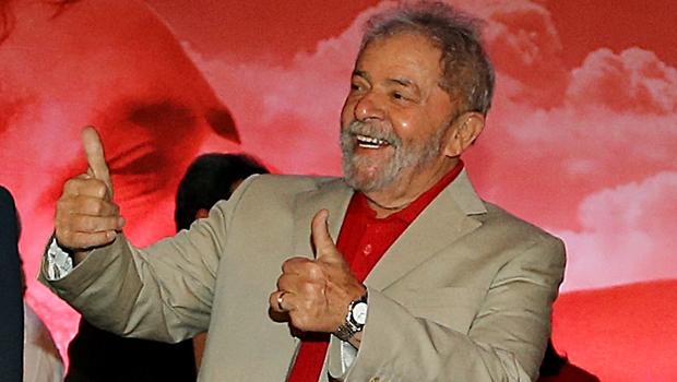 Lula admite que pode ser candidato a presidente em 2018