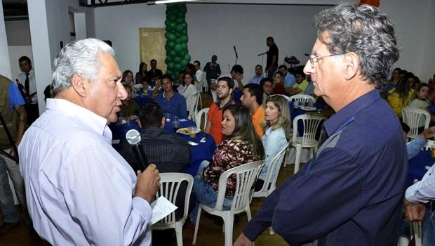 O médico Luiz Alberto é a grande aposta do PSD para a Prefeitura de Nerópolis