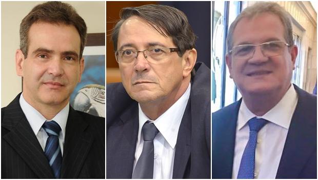 Os três nomes mais cotados para ocupar a vaga de Helder Valin no TCE