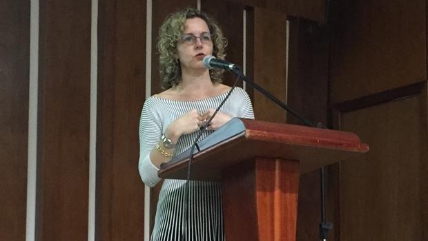 Ana Carla Abrão defendeu a privatização da Celg   Foto: Alexandre Parrode / Jornal Opção
