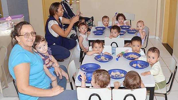 Prefeitura conta com 525 auxiliares de Atividades Educativas   Foto: Divulgação/Luiz Fernando Hidalgo