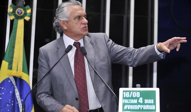 Senador Ronaldo Caiado: #VemPraRua | Foto: Waldemir Barreto | Agência Senado