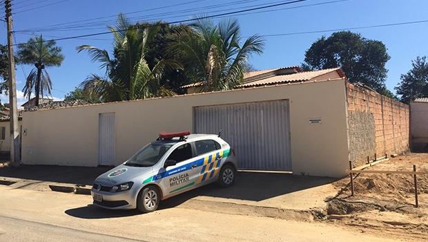 Fachada da casa do prefeito de Cavalcante | Foto: Divulgação/PC